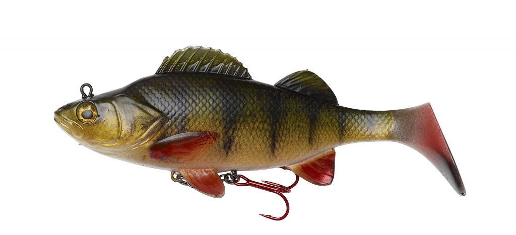 EFFZETT Natural Perch Paddle Tail